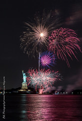 Statue Of Liberty Fireworks July 16 2016-5 (bkrieger02) Tags: nyc newyorkcity longexposure nightphotography brooklyn canon fireworks hudsonriver statueofliberty pyro redhook libertyisland pyrotechnics libertyharbor canonusa 7dmkii louisvalentinopier