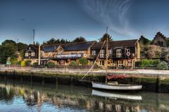 Bargemans 1-1 (hov1s@) Tags: bargemansrest pub rivermedina river boat nikon nikond7100 hdr newport sunrise photomatixpro lr5