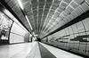 U2 Station Messehallen (FotoMarc64) Tags: subway station hamburg schwarzweisblackandwhite sonyalpha sony sonyalpha700 sigma