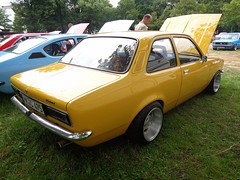 Opel Kadett C (911gt2rs) Tags: treffen meeting youngtimer limo tief low stance tuning spoiler gelb yellow vauxhall