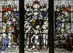 Christ in Judgement (Lawrence OP) Tags: christtheking mells parish church standrews apostles saints