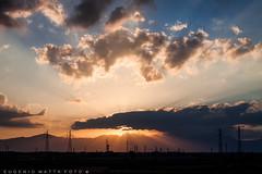 Fine giornata Villasor (matta.eu) Tags: tramonto sunset canon canon50d villasor