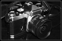 Nikon FE (Mike Enage) Tags: nikon film fe fisheye 16mm zenitar zenit