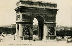 Paris (Steenvoorde Leen - 1.9 ml views) Tags: paris parijs arcdetriomphe ansichtkaart postkaart postkarte
