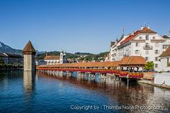Kapellbrcke : Luzern (Thomas Naas Photography) Tags: luzern schweiz switzerland vierwaldstttersee fluss brcken kapellbrcke reuss