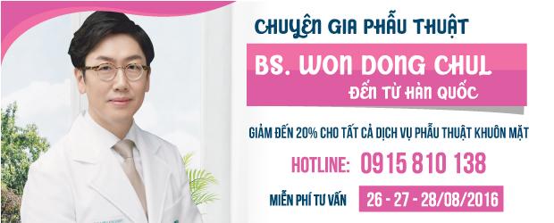 Ưu đãi 20% tất cả dịch vụ phẫu thuật khuôn mặt tại TM Hồng Ngọc