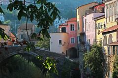 Dolcedo (ludi_ste) Tags: old village paese liguria entroterra ponte bridge case houses