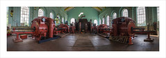 The Engine House   (Explore 20/08/16 #400) (andyrousephotography) Tags: astleygreen colliery museum enginehouse windingengine steampowered cylinders twintandem panorama 180 degrees stitched elements flickrites meetup canon eos 5d mkiii