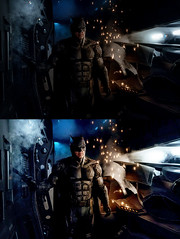 First Look at Batman's Tactical Suit in Justice League! (AntMan3001) Tags: batman tactical suit justice league