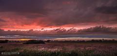 Quiet sky over Christchurch..... (Nick_Miles) Tags: nikon d7000 sunset colours storm thunder clearing sky rain 1870 christchurch dorset evening summer