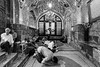 Iranian men pray at tomb of holy man (damonlynch) Tags: iran islam middleeast muslim people places shia shiite shiaislam tehran akhoond alone aloneness clergy cleric contemplate contemplating contemplation holy humanbeings humans indoors inside interior mullah person pray prayer praying preacher quiet religion religious ruhani sacred solitary tomb
