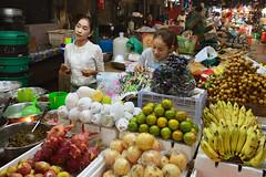 Siem Reap Market (Isabel-Valero) Tags: siem reap cambodia market fruit people woman camboya travel gente fruta asia