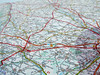(Innovation.ca) Tags: cartography singleline roadmap france map tiltedview