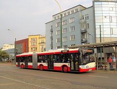 Solaris Urbino 18III, #553, PKM Sosnowiec (transport131) Tags: bus autobus pkm sosnowiec kzk gop solaris urbino