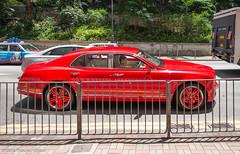 Low Profile (Theunis Viljoen LRPS) Tags: bentley central hongkong red