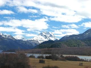 Paisaje,ruta 40,camino siete lagos,Parque Nacional Nahuel Huapi,patagonia Argentina