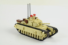 Churchill Mk III Infantry Tank (Florida Shoooter) Tags: lego ww2 british armor churchillmkiii