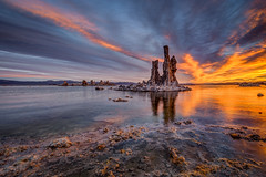 Mono Lake Sunrise Labor Day Weekend (Jeffrey Sullivan) Tags: mono lake sunrise sunset tufa rock formations monocounty night landscape photography milkyway starry sky inyo national forest easternsierra sierranevada leevining california usa unitedstates nature canon eos 6d photo copyright 2016 jeff sullivan august calcium carbonate