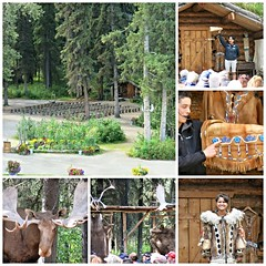 Chena River ~ Native Village (karma (Karen)) Tags: chenariver alaska nativevillage collage picmonkey mmm