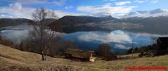 Innvikfjorden - Blaksaeter - Panorama (soyouz) Tags: blakster blakset geo:lat=6185967294 geo:lon=652669138 geotagged nor norvge sognogfjordane fjord montagne neige panorama innvikfjorden norvegela