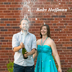 Announcement (Chase Hoffman) Tags: eos colorado color canoneos7dmarkii chasehoffman canon denver summer chasehoffmanphotography portrait person me man woman face dof depthoffield 6dmkii 7dmarkii sigma50mmf14dghsmart 50mm normal laura champagne prosecco cava spray babyannouncement