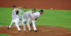 Pitcher's mound (Sean__YT) Tags: pitcher taiwan  lamigo taoyuan  cpbl baseball