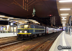 SNCB/NMBS HLE 2005, Luxembourg, 04.01.2013 (Trainspotting-Wiki) Tags: 2005 20 luxembourg m6 luxemburg nmbs arlon sncb hle
