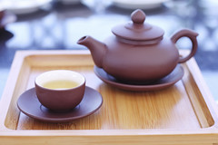 Morning tea (bambooland (SEE YOU AGAIN IN MID JULY)) Tags: morning cup tea drink pot tray morningtea