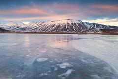 Monte Vettore (Corsaro078) Tags: sunset ice landscape montagna paesaggio ghiaccio montevettore castellucciodinorcia