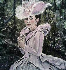 Anna Karenina (Margottina Verch) Tags: oilpainting mariotestino annakarenina amatuerartist