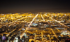 Chicago Night tilt shift (Blue_gsx) Tags: chicago night shift tilt 45mm pce d700