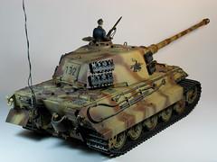 Tamiya – 1/16 – R/C King Tiger – Home coming cat!! – 2 (My Toy Museum) Tags: king tiger tamiya rc 116