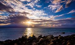 Wahikuli Park (blainecourts) Tags: ocean sunset water clouds landscape hawaii coast wideangle maui coastal hdr hawaiianislands landscapephotography sigma1020 hdrphotography 60d