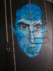 Clive Barker (Johnny Hellion) Tags: art painting chains hell nails johnny barker clive pinhead hooks hellion hellraiser cenobite