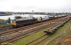 Southampton Skips (davidhann34016) Tags: southampton skip oiltanks fawley class67 67005 67006 67026 bevoispark 6b93