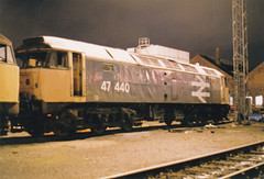 47440 (marcus.45111) Tags: old night logo oak large 1993 common withdrawn class47 47440