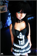 Chlo (BathorYume) Tags: black doll dot le orion bjd shall dreamofdoll chlo bathoryume
