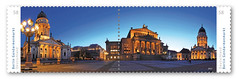 "A Berlin Panorama of me is published as an official stamp of the ""Deutsche Post"" (FH 
