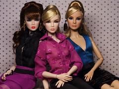 Nu face girls (Orhilien) Tags: toys eden lillith fashiondolls integritytoys nuface leadsingles giselleliveworkplay