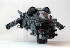 Lego fighter 28 (fluffyshawn1) Tags: fighter lego 28 minigun