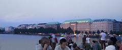 Alster at night (jvivancode) Tags: street gay night river day nacht hamburg christopher august pride parade alster csd 2012 schwul strasenfehst