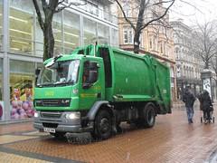 Birmingham City Council DAF LF refuse truck BJ58 OWW (2473) (wicked_obvious) Tags: city truck birmingham bin lorry rubbish council lf refuse daf 2473 bj58oww