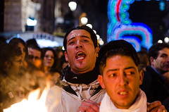 Catania, Saint Agatha Feast 2013 - A vuciata (ciccioetneo) Tags: italy feast nikon candles italia fireworks sicily prayers catania sicilia ceri fuochidartificio santagata sagata devotes fuochipirotecnici saintagatha devoti 4febbraio festadisantagata 3febbraio 4thfebruary 5febbraio 5thfebruary d7000 nikond7000 ciccioetneo flickrandroidapp:filter=none saintagathafeast messadellaurora saintagathacelebration prayingdevotes santagata2013 festadisantagata2013 stagathafeast stagathafeast2013 saintagathafeast2013 stagathacelebration 3rdfebryuary february35th