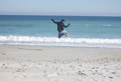 beach jumping (peculiarnothings) Tags: