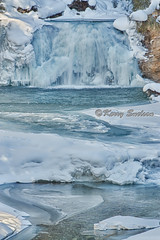 Frozen Falls (Keeperofthezoo) Tags: winter snow canada cold ice water creek season landscape frozen waterfall seasonal alberta banff banffnationalpark