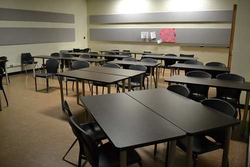 Empty classroom by ishmael n. daro, on Flickr