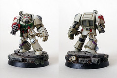 Dark Angels Deathwing Terminator (Bronzetooth) Tags: dark 40k angels warhammer terminator deathwing