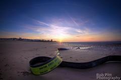 Is This Safe? (Rob Pitt) Tags: sunset beach spring 8mm wirral newbrighton samyang