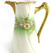 164. Limoges Hand-Painted Porcelain Pitcher