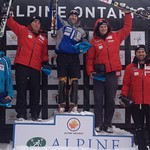 Brodie Seger does it again - winning slalom at Ontario FIS race PHOTO CREDIT: JP Daigneault